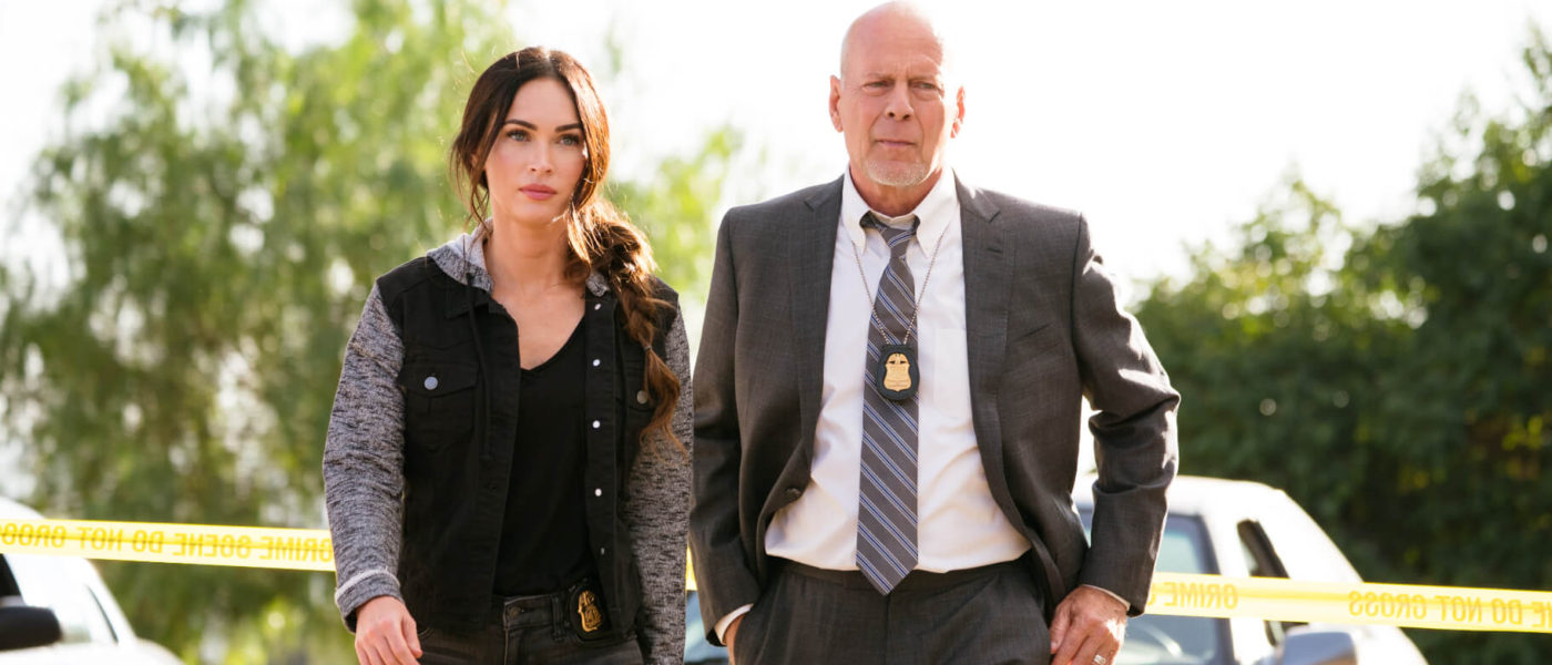Megan Fox and Bruce Willis in Midnight in the Switchgrass