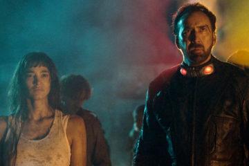 Nicolas Cage and Sofia Boutella in Prisoners of the Ghostland