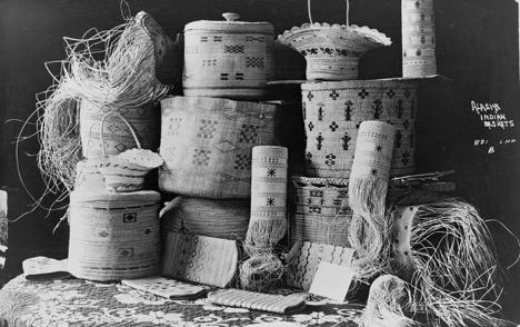 Alaska Indian Baskets