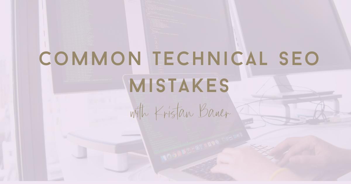 technical seo mistakes