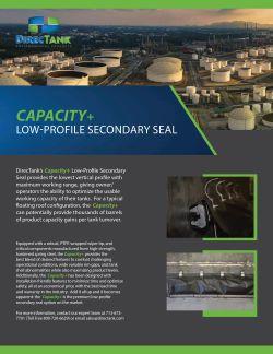 Capacity Plus Low-Profile Secondary Seal