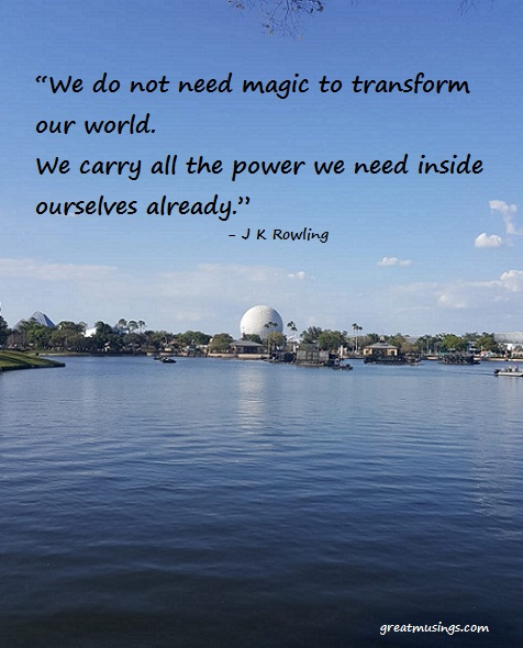 Read more about the article J K Rowling on Magic and Power