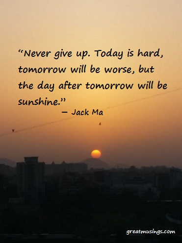 Read more about the article Jack Ma on Never Give Up