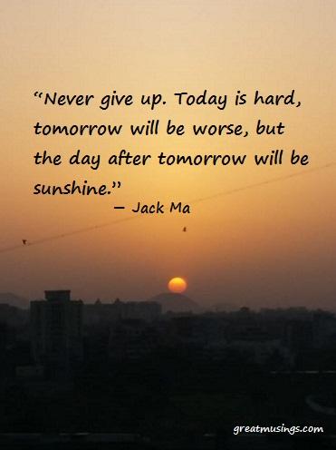 Jack Ma Great Musings