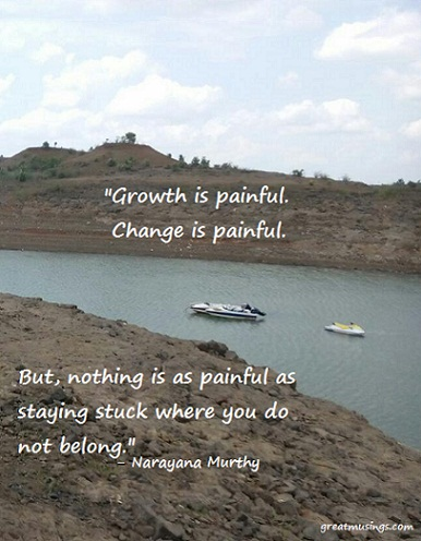 Read more about the article Narayana Murthy on Growth and Change