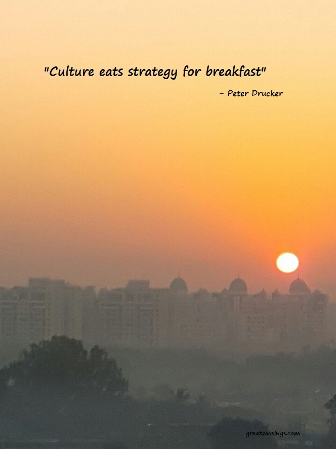 Read more about the article Peter Drucker on Strategy and Culture
