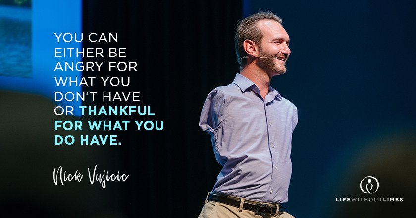 Read more about the article 10 Best Quotes Of Nick Vujicic To Help You Believe In Yourself