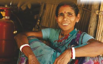 Village women sitting