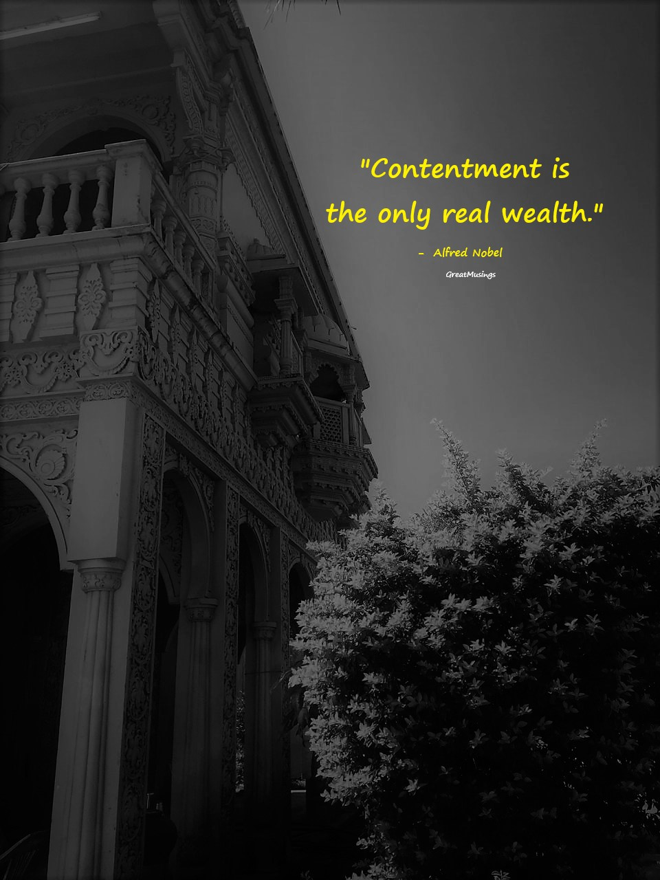 Alfred Nobel quote on a pic