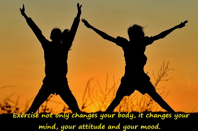 Exercise quote for mental health
