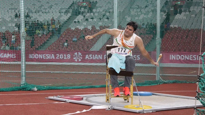 Amit Saroha para athlete : Eg for willpower