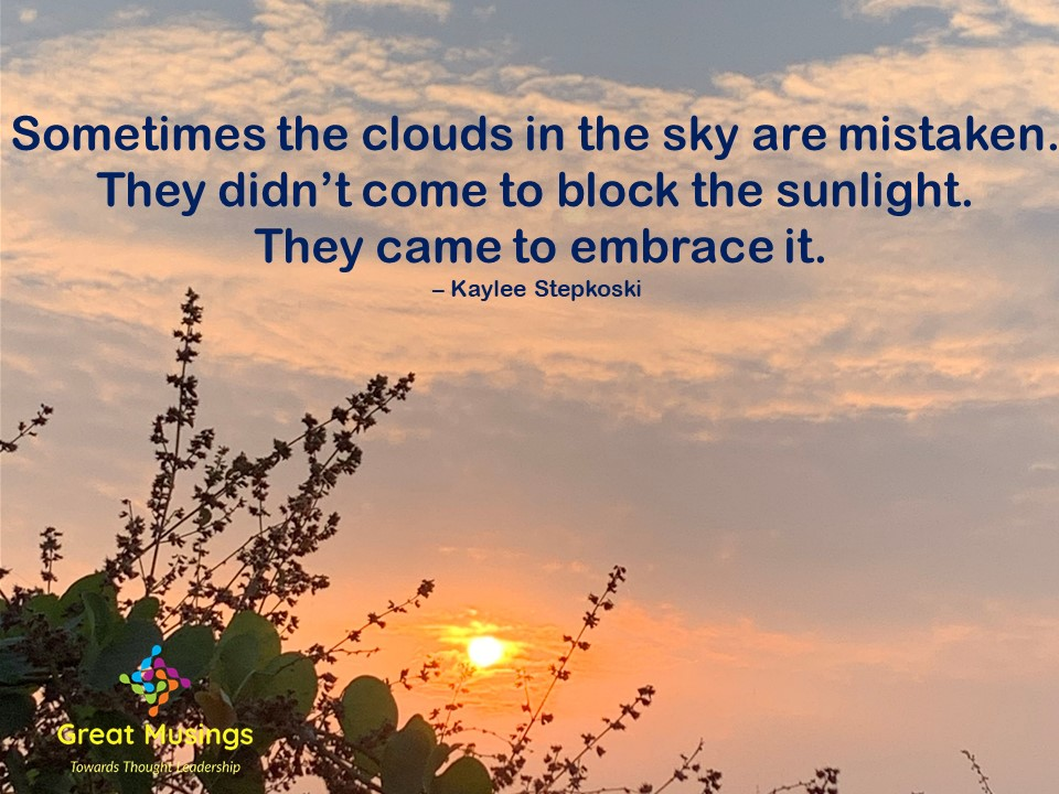 Kaylee Stepkoski Clouds Quotes in Nature's pic