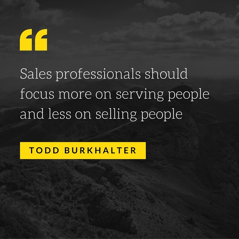 Sales Serving Quote