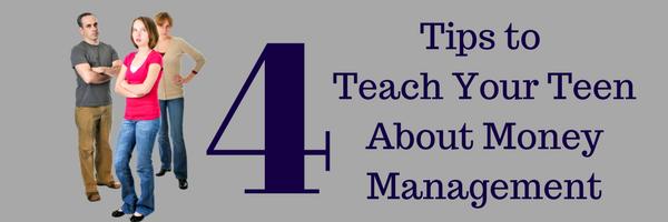 4 Tips to Teach Your Teen