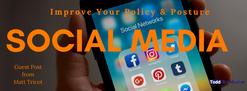 Social media Policy and Posture banner