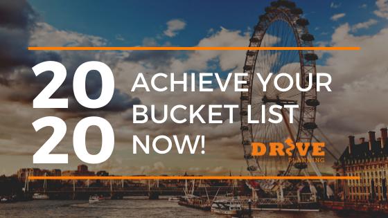 2020 Bucket List
