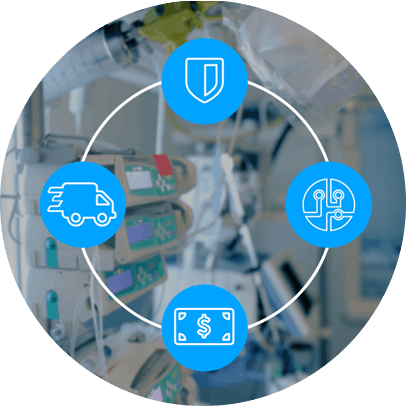 Medical Equipment Services and Support Circle