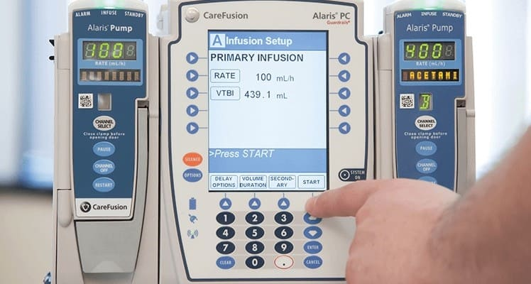 Alaris CareFusion IV Pump System