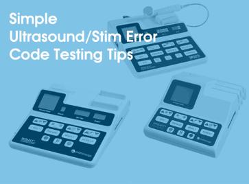 Simple Ultrasound Error Code Testing Tips