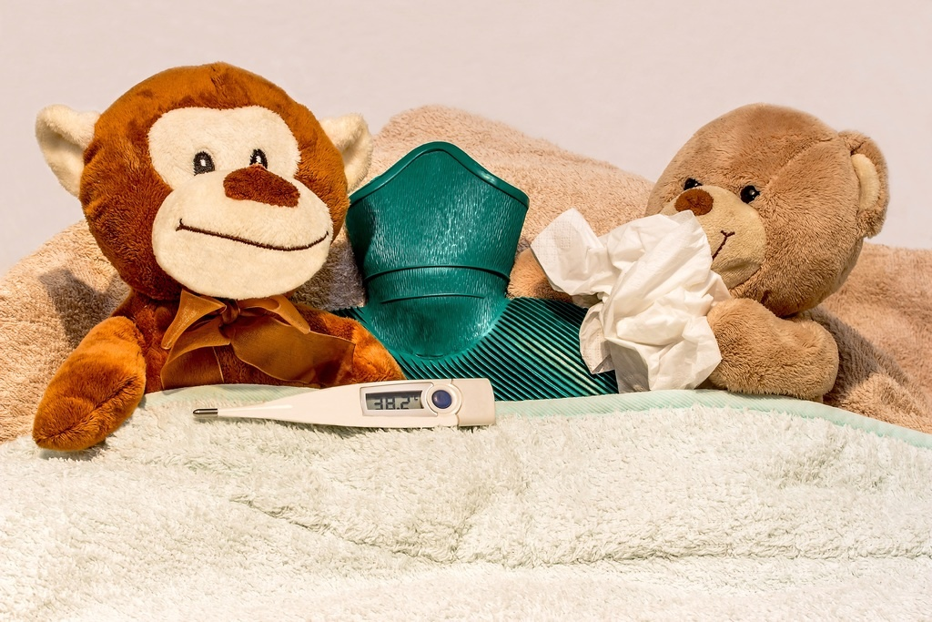 Can curtain dust cause allergy in children?