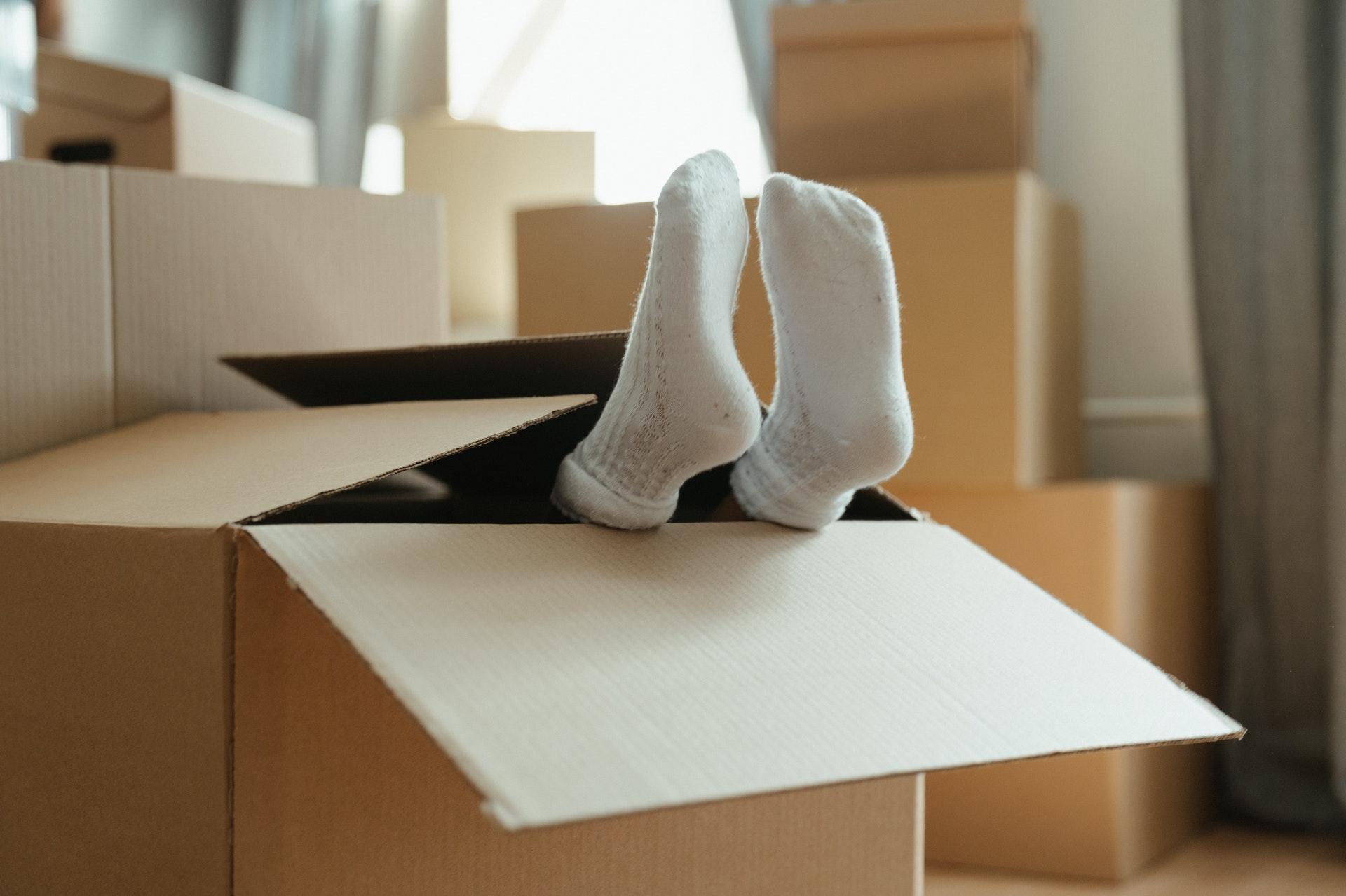 Laundry washing socks is a total headache.