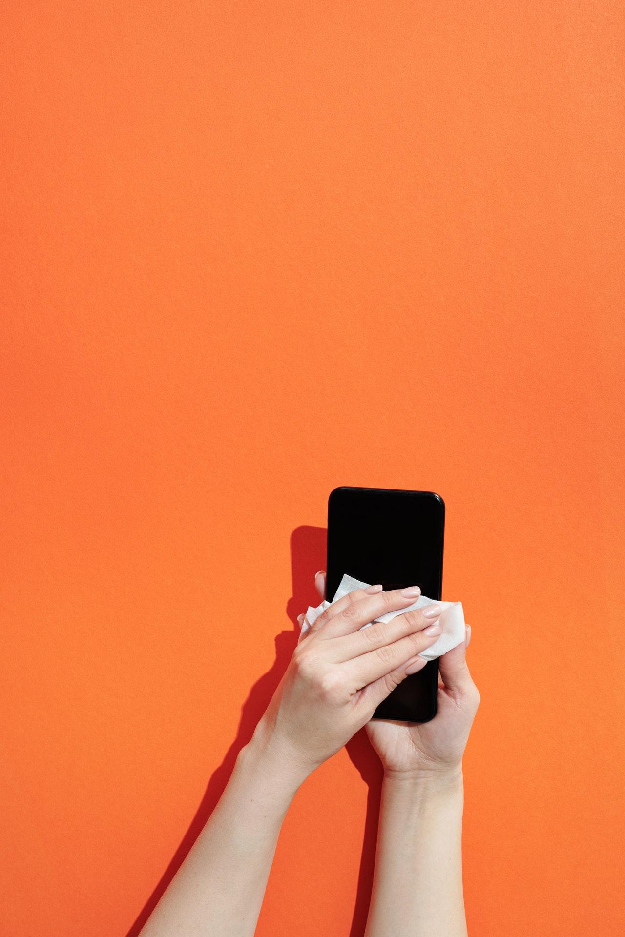 How to Disinfect Smartphones