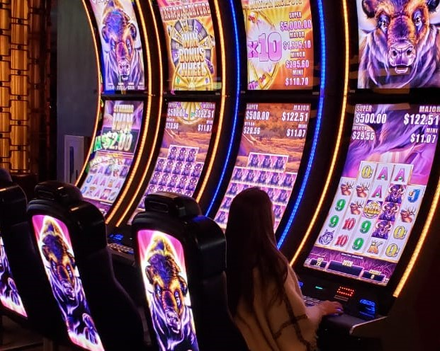 Jogos de azar - apostas em Las Vegas
