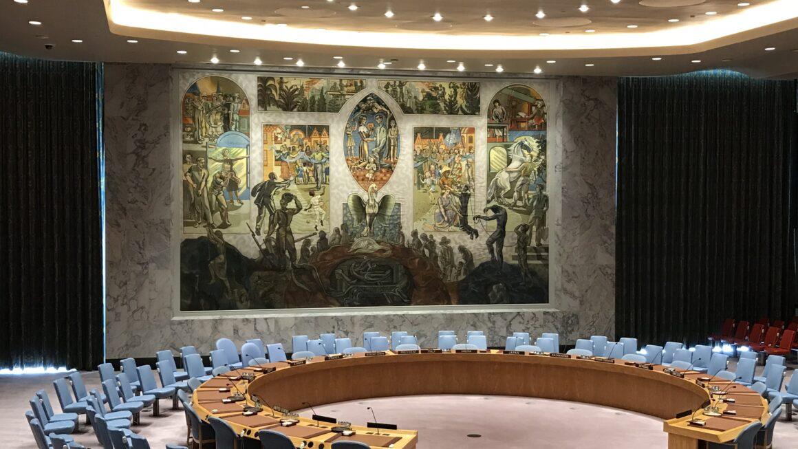 Sala da Assembleia Geral da ONU