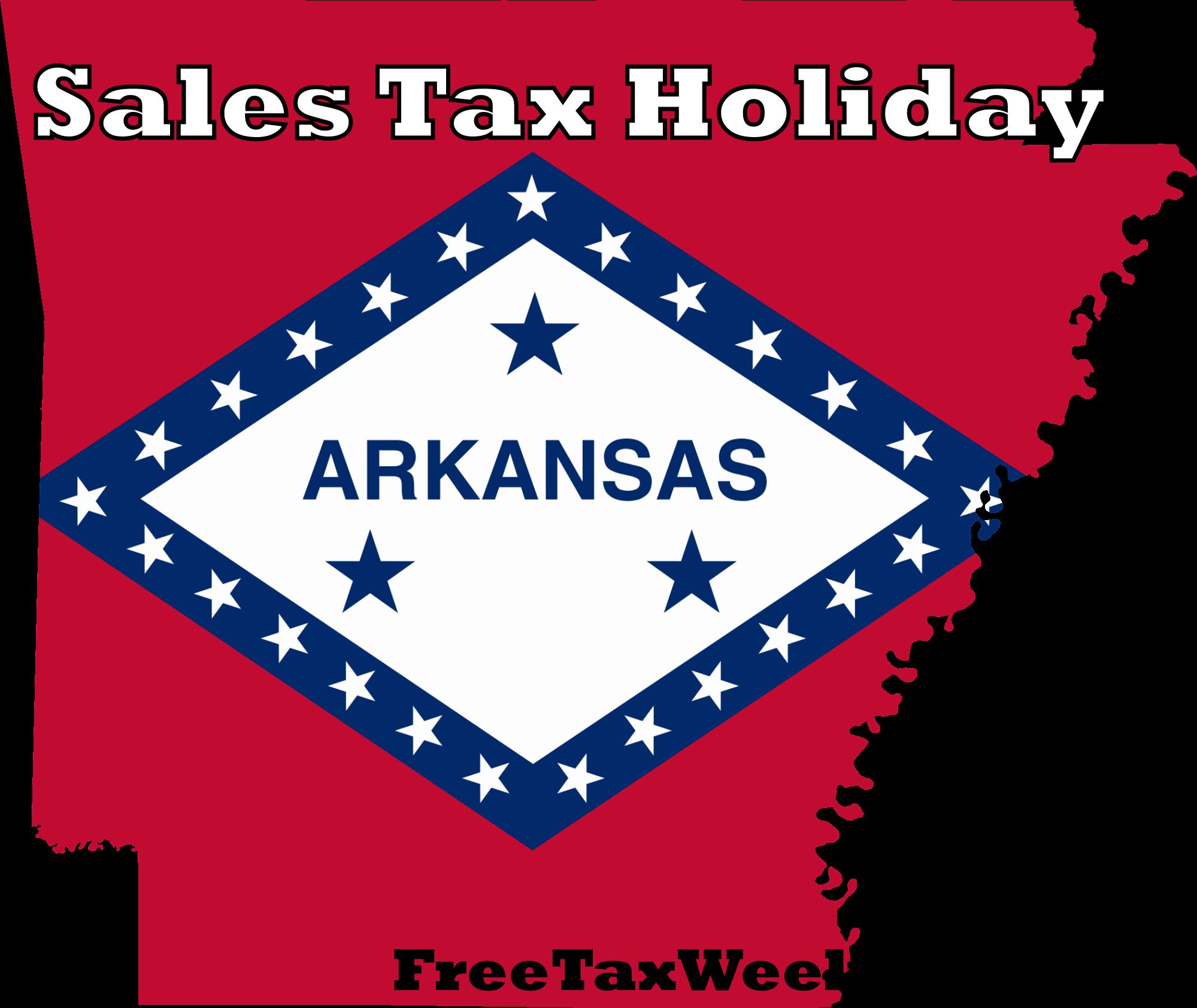 Arkansas Sales Tax Holiday 2019