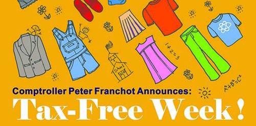 Maryland Tax Free Week 2016