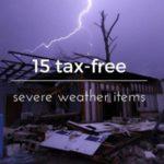 Texas Sales Tax Holiday 2016