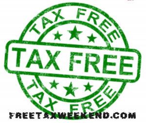 Maryland Tax Free Week 2017
