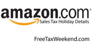 Amazon Sales Tax Holiday 2021
