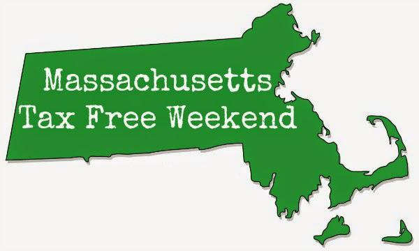 Massachusetts Tax Free Weekend 2017