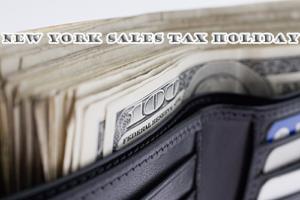 New York Sales Tax Holiday