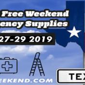Texas Tax Free Weekend [thisyear]