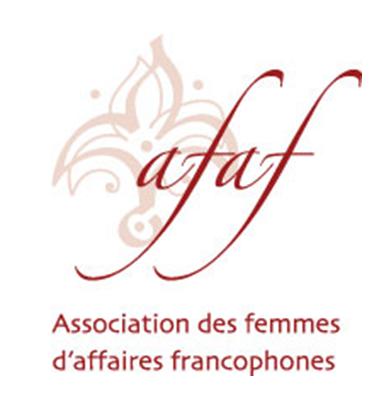 AFAF Association des femmes d'affaires francophones logo