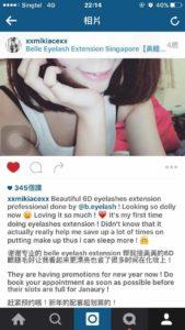 Eyelash Extension Singapore (Belle Beauty Eyelash)