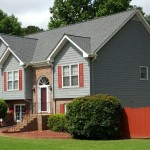New Roof on Split Level Home