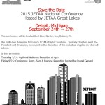JETAA USA National Conference - SAVE THE DATE