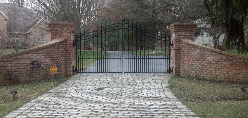 E36 Exterior Iron Estat Entrance Gate