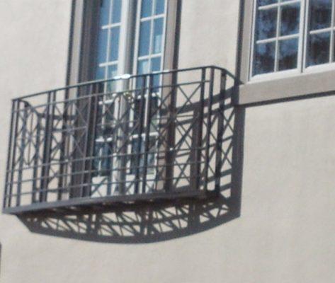 B2 Balcony Aluminum Faux Railing