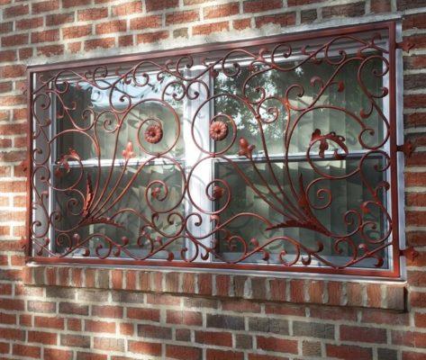 B7 Custom Iron Window Guard