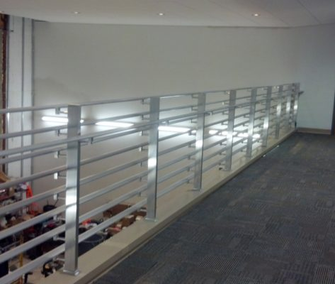 IC1 Commercial Interior Solid Aluminum Balcony Railing