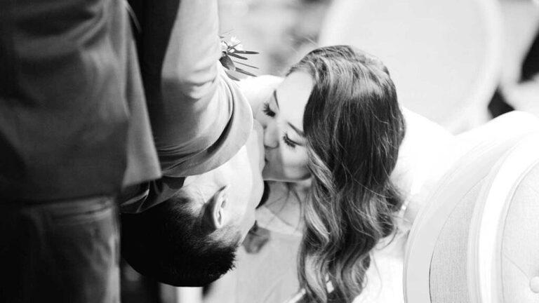 spiderman kiss at wedding, The Arlington Estate