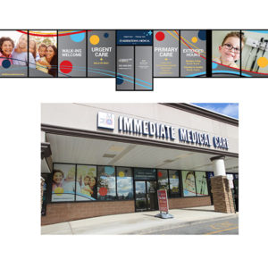 Middletown Medical Chester office window display