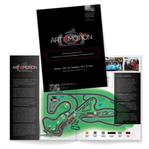 Art In Motion event program