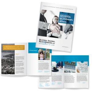 Blustein, Shapiro, Rich & Barone Attorneys at Law firm brochure