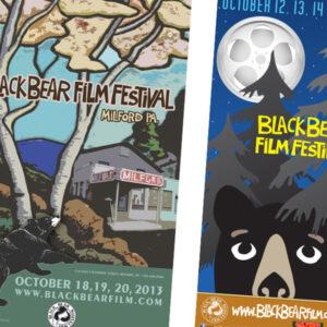 Black Bear Film Festival Posters