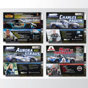 Monticello Motor Club - Racer hero cards